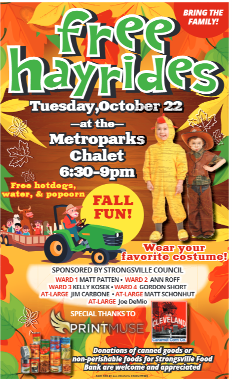 Hayrides at the Chalet